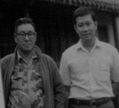 Duc dang taekwondo and grand master suzucho