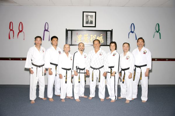 Duc dang taekwondo dang huy duc and the instructors of hwa rang kwan martial arts academy